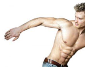 ניתוח מתיחת זרועות לגבר