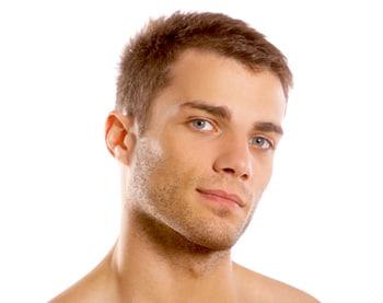 פנים של גבר
